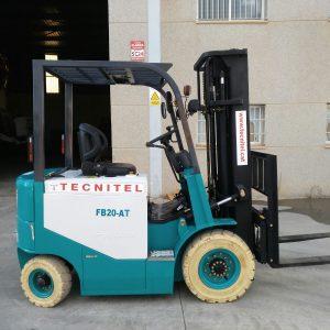 Venta de carretilla eléctrica con capacidad de carga de 2.000 kg