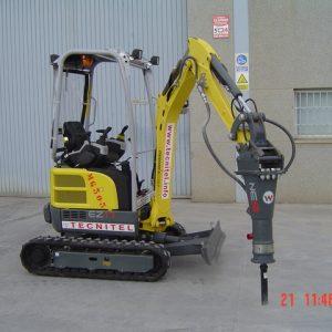 Venta de excavadora compacta giratoria