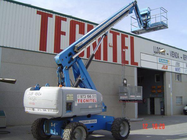 Venta de plataforma telescópica con capacidad de carga de 227 kg
