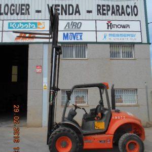 Venta de carretilla diésel con capacidad de carga de 2.500 kg