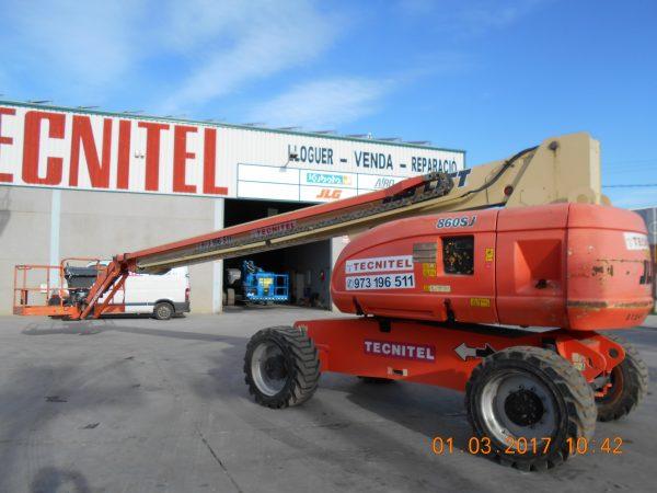 Venta de plataforma telescópica con capacidad de carga de 230 kg
