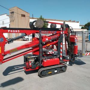 Venta de plataforma sobre orugas con capacidad de carga de 1.800 kg