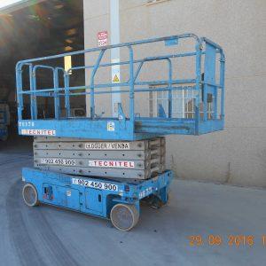 Venta de plataforma de tijera eléctrica de 12 metros