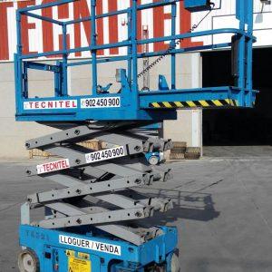 Venta de plataforma de tijera eléctrica de 0,76 metros de anchura