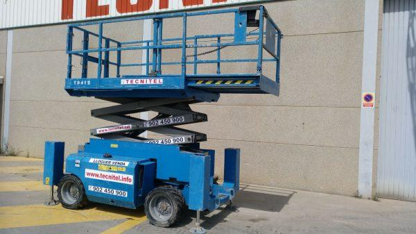 Venta de plataforma de tijera diésel de 12 metros