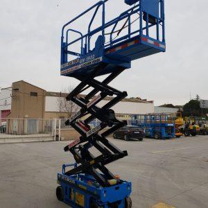 Alquiler de plataformas de tijera eléctricas