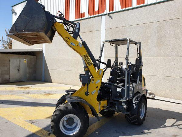 Venta de cargadora Wacker Neuson hasta 1600 kg