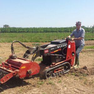 Venta de cultivador de suelo con barra niveladora ajustable