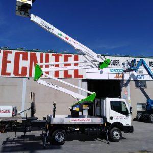 Venta de plataformas sobre camión de 20 metros