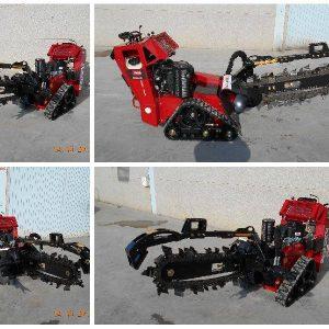 Venta de zanjadora TRX Toro con motor kawasaki